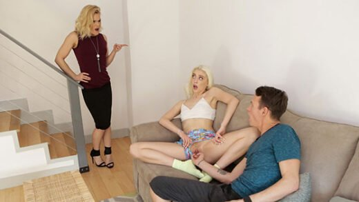 StepSiblingsCaught - Chloe Couture - Caught By Mom