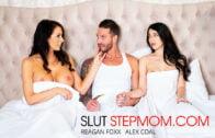 SlutStepMom – Alex Coal And Reagan Foxx 25171