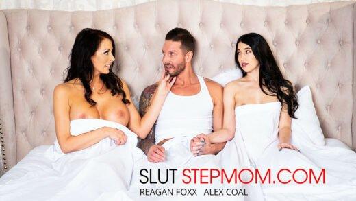 SlutStepMom - Alex Coal And Reagan Foxx 25171