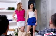 DaughterSwap – Diana Grace And Judy Jolie – Stepdaughter Makeover Muff