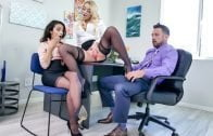 MylfDom – Adrian Hush, Alexis Monroe, Office Submission