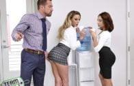 BadMilfs – April Aniston, Olivia Austin, Family Bonding Over A Boner