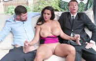 BangGlamkore – Chloe Lamoure – Giant Tits And A Craving For Two Dicks!