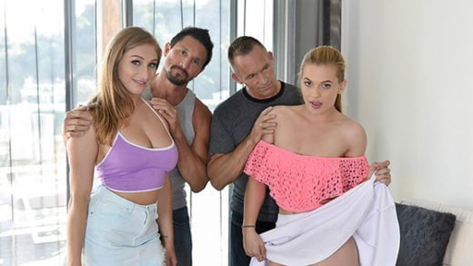 [DaughterSwap] Skylar Snow, Sloan Harper (Fucking Fathers To Keep The Car / 08.14.2018)