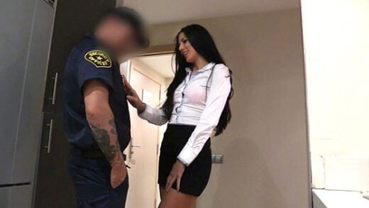 FakeCop - Alexa Tomas, Female Wanna Be Cop Having Hot Sex