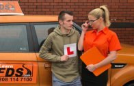 FakeDrivingSchool – Georgie Lyall – Exam failure leads to hot car sex