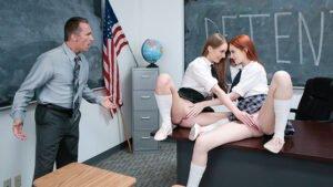 EvilAngel – Scarlet Chase – Schoolgirl Spanked And Sodomized, Perverzija.com