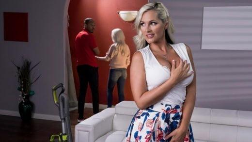 MommyGotBoobs – Mommy's Busy, Alena Croft & Ricky Johnson