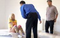NannySpy – Anastasia Knight, Nanny Starts The New Year On A Slutty Foot