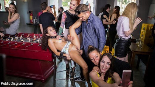 Free watch streaming porn PublicDisgrace Silvia Rubi, Melody Petite Submissive, Slut Melody Petite Gets Humiliated and Fucked in Public - xmoviesforyou