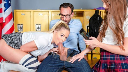 [ScamAngels] Izzy Lush, Sophia Lux (Blackmailing the teacher / 10.14.2018)