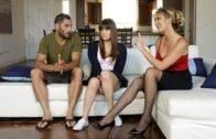 TeacherFucksTeens – Alison Rey And Brett Rossi – Picked Up By Teacher