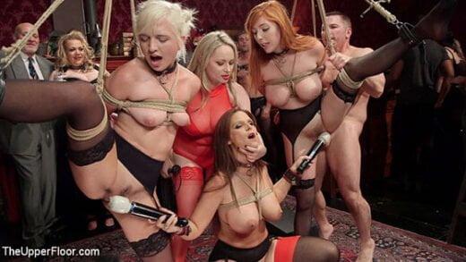 Free watch streaming porn TheUpperFloor Syren de Mer, Eliza Jane, Aiden Starr, Lauren Phillips Fantastically Fevered Folsom Orgy - xmoviesforyou