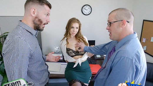 [TittyAttack] Lena Paul (The Porn Office / 12.03.2018)