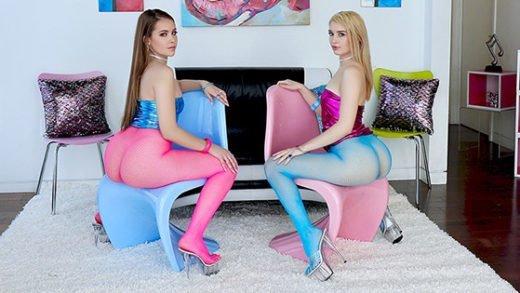 [TrueAnal] Anastasia Knight, Naomi Blue (Naomi and Anastasia Make a Filthy Duo / 01.23.2019)