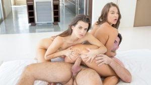 DeepLush – Brooklyn Gray, Kristen Scott Threeway Pleasure, Perverzija.com