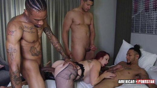 Free watch streaming porn American-Pornstar Bella Rossi Takes 4 BIG DICKS Part 2 - xmoviesforyou