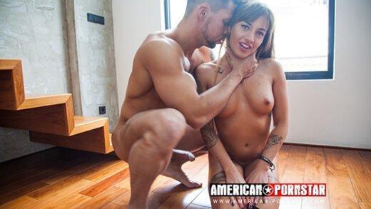 [American-Pornstar] Silvia Dellai (Fucks Brothers Double Anal Part 2 / 03.25.2019)