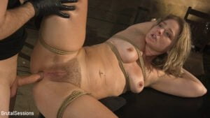 [BrutalSessions] Lisey Sweet (All Natural Blonde Babe Lisey Sweet Ass-Fucked and Abused in Bondage / 06.25.2019)