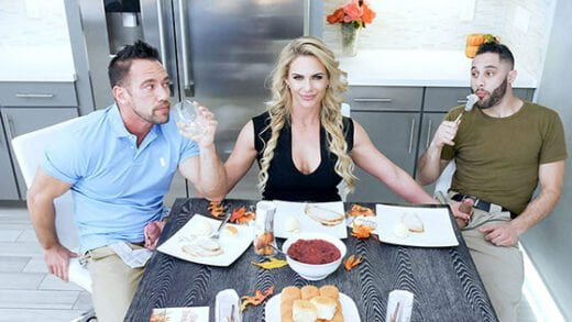 Free watch streaming porn FamilyStrokes Phoenix Marie Army Boy Meets Busty Stepmom For Thanksgiving - xmoviesforyou