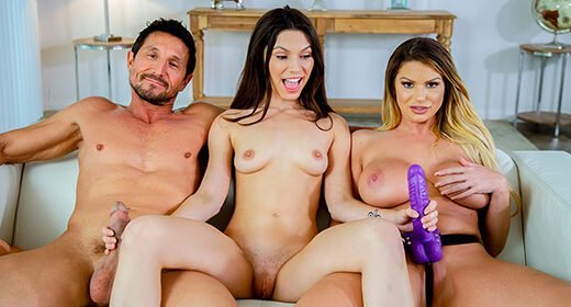 [FilthyFamily] Brooklyn Chase, Gianna Gem (Learning To Fuck With My Step-parents / 06.01.2019)