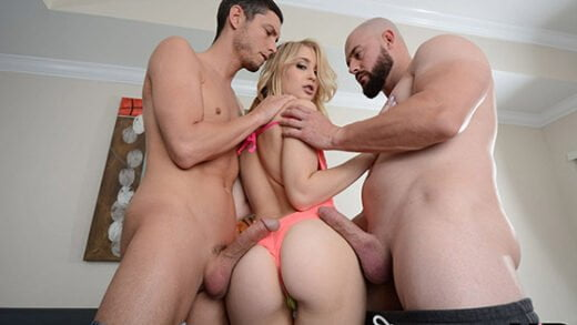 [HussiePass] Anastasia Knight (Anastasia Takes Two cocks in Her Pussy for Double Vaginal Fucking / 10.21.2018)