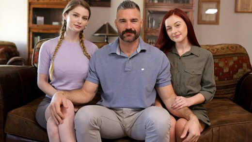 [Nubiles-Porn] Bunny Colby, Danni Rivers (My Sister Wives What It Takes / 06.02.2019)