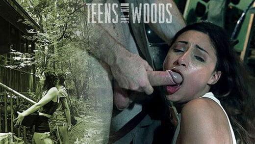 Free watch streaming porn TeensInTheWoods Jade Jantzen Satan