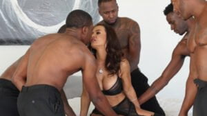 [TheLisaAnn] Lisa Ann (Black Out 3 Gangbang / 03.23.2019)