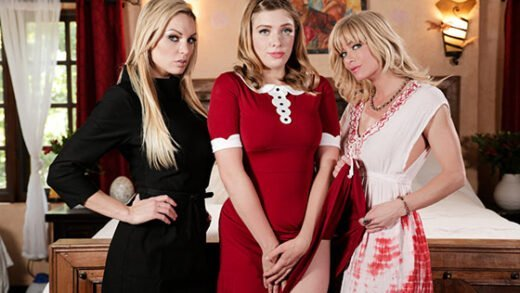 [GirlsWay] Kenzie Taylor, Giselle Palmer, Serene Siren (Teen Witch A Chilling Adventures Of Sabrina Parody / 07.12.2019)