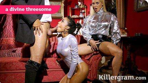 [Killergram] Alyssa Divine, Victoria Summers (A Divine Threesome / 07.14.2019)