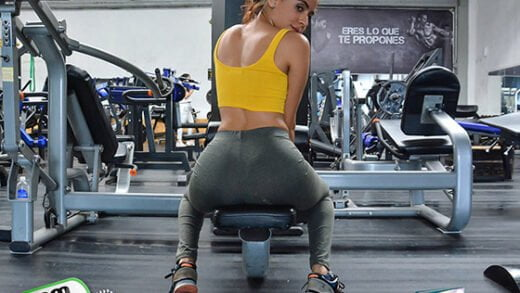 [OyeLoca] Evelyn Suarez (Working Out Her Latina Pussy / 06.30.2019)