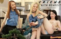 ThatSitcomShow – Charlotte Stokely, Evelyn Claire And Jillian Janson – Friends With Benefits – The One Where The Girls Get Naked
