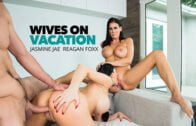 WivesOnVacation – Jasmine Jae, Reagan Foxx, 25458