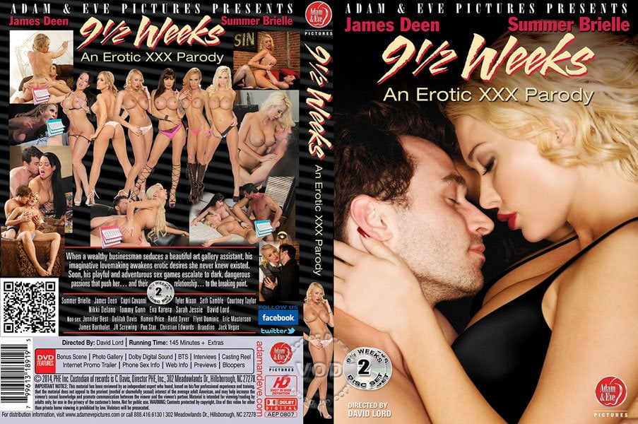 Adam&Eve - 9 1/2 Weeks: An Erotic XXX Parody (2014)
