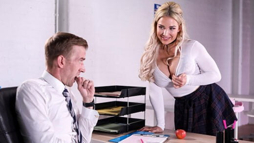[BigTitsAtSchool] Amber Jade (Teachers Pet / 08.24.2019)
