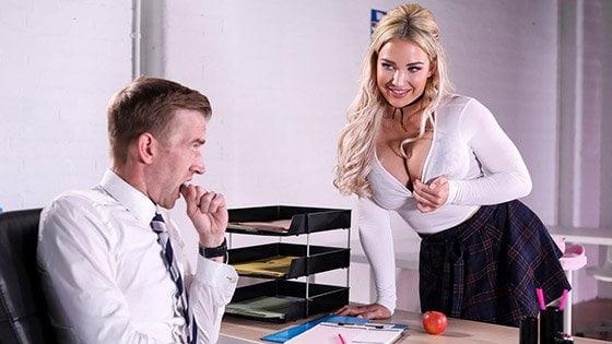 [BigTitsAtSchool] Amber Jade (Teachers Pet / 08.24.2019)