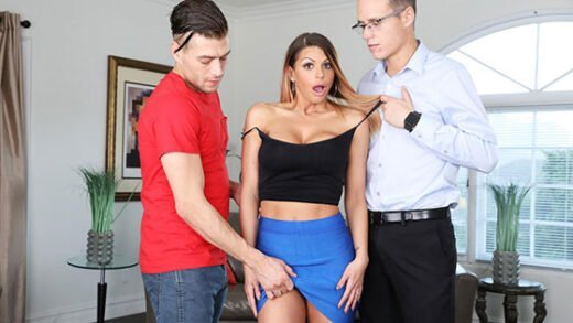 Free watch streaming porn Blackmailed Brooklyn Chase Blackmailed Stepmom Brooklyn
