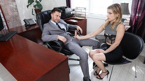 Blackmailed – Kristen Scott, Sexy Secretary Blackmailed, Perverzija.com