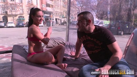 Free watch streaming porn BoxTruckSex Apolonia Lapiedra Teen Apolonia Lapiedra Fucks the Model Agent in Public - xmoviesforyou