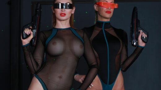 FemdomEmpire – Space Clits: The Ballbusting / Riley Jenner & Yasmin Scott