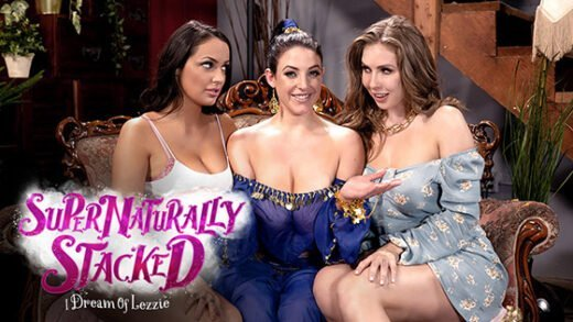 [GirlsWay] Angela White, Lena Paul, Sofi Ryan (I Dream Of Lezzie / 08.08.2019)