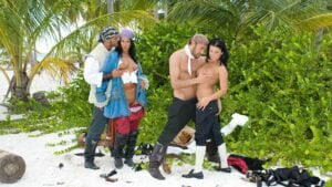 Private – Nikky Rider and Simonne Style Get a DP While Having Group Sex on Beach