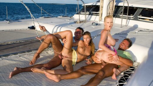 Private – Tarra Shares the Tropical Boat with Olivia and Some Hot Guys Too