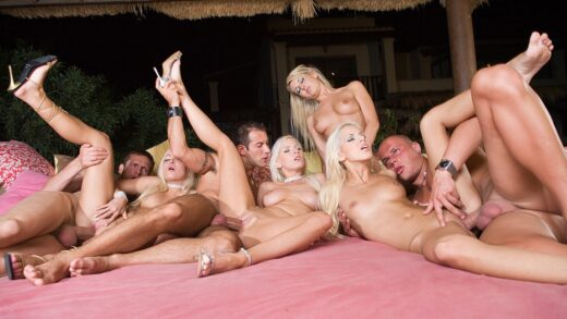 Private – Watch an Orgy with Alexis, Boroka Balls, Jessica Girl and Nicky Angel