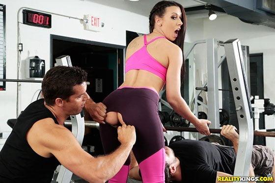 Free watch streaming porn SneakySex Rachel Starr Gym And Pussy Juice - xmoviesforyou