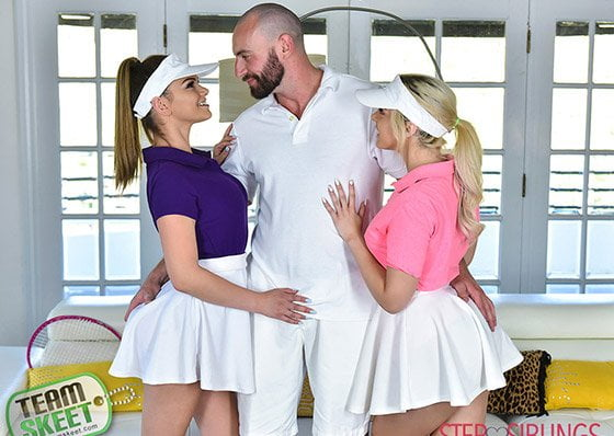 [StepSiblings] Athena Faris, Allie Nicole (Stepsister Tennis Sex / 08.23.2019)
