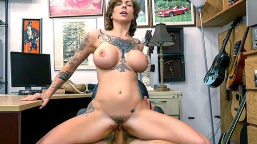 Free watch streaming porn XXXPawn Harlow Harrison Tattooed Harlow gets needled and inked - xmoviesforyou
