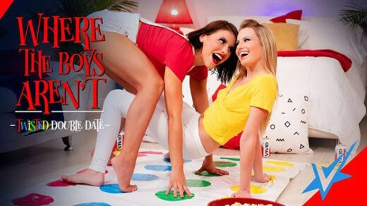 [AdultTime] Adriana Chechik, Scarlett Sage (Twisted Double Date / 09.04.2019)
