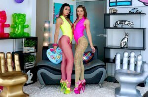 [AllAnal] Adriana Chechik, Brooklyn Gray (Adriana And Brooklyn Are Partners In Slime / 09.22.2019)